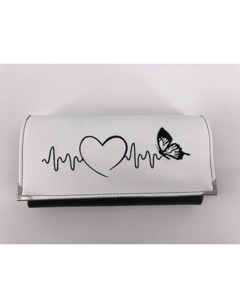 Milow Geldbörse Herz Schmetterling
