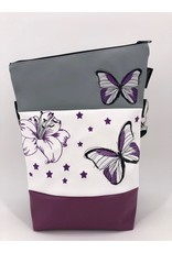 Foldover Lilie mit Schmetterling und Sternen