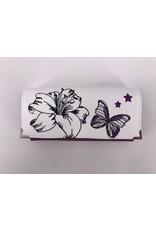 Milow Geldbörse Lilie mit Schmetterling und Sternen