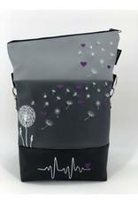 Foldover purplehearts