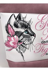 Foldover Katze mit Blume