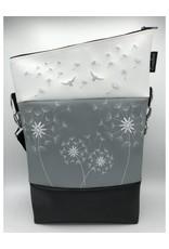 Foldover Set - 4 Pusteblumen inkl. Clutch