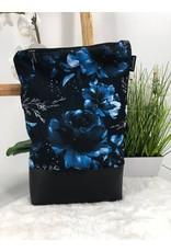 Foldover Blaue Blumen (Softshell)