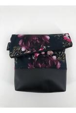 Foldover Rosa Blumen (Softshell)