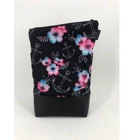 Foldover Blumen mit Anker (Softshell)