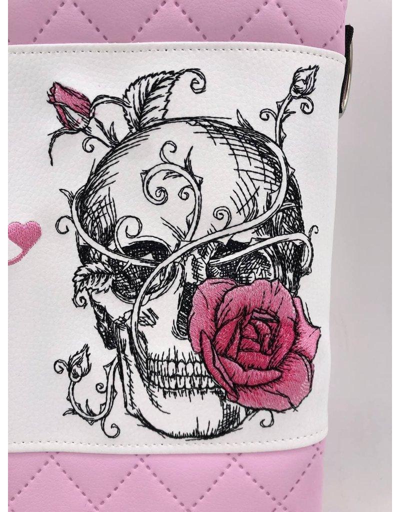 Foldover Totenkopf - love