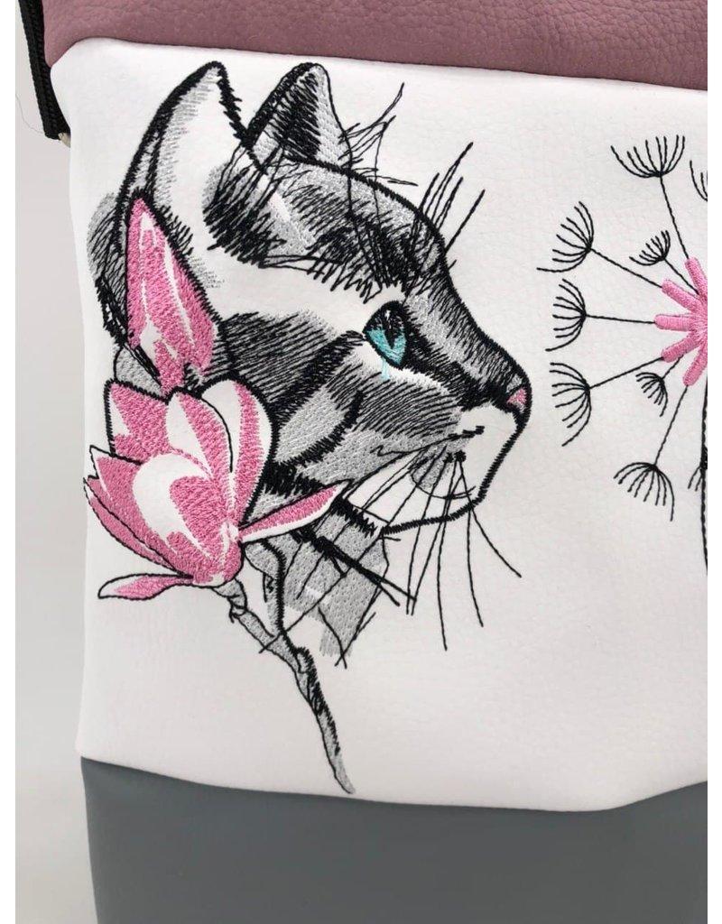 Foldover Katze mit Pusteblume