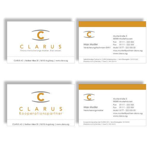 Visitenkarten 84 Claruswebshop