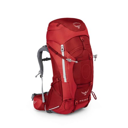 Osprey Osprey Ariel AG 65l backpack dames - Picante Red