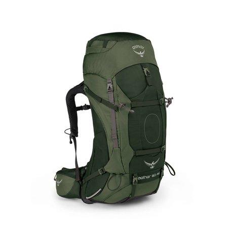 Osprey Aether AG 60l  backpack heren - Adirondack Green