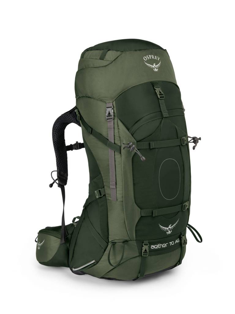 Osprey Aether AG 70l backpack heren - Adirondack Green