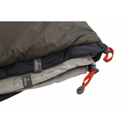 Nomad Travel Lite - slaapzak met liner - charcoal whale