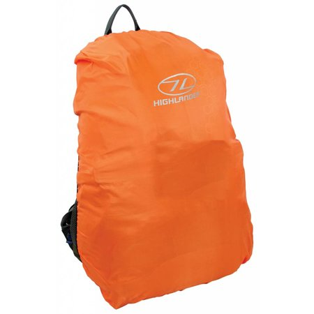 Highlander Backpack regenhoes - 60-70l - oranje