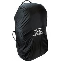 Combo cover 50-70l flightbag en regenhoes - zwart