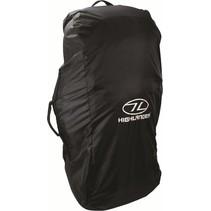 Combo cover 80-100l flightbag en regenhoes - zwart