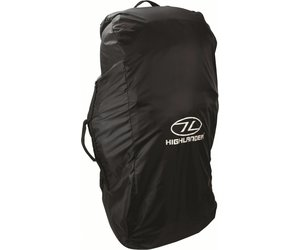 e3117725923 Highlander - flightbag - combicover - 80-100 liter - zwart |  Backpackspullen.nl
