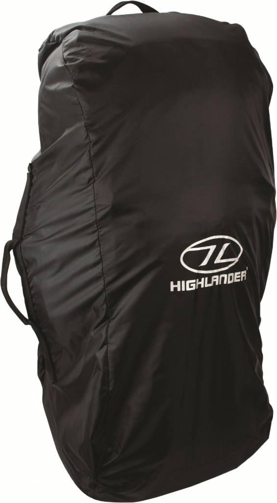 8606ef306f2 Highlander Combicover - 80-100l - flightbag en regenhoes - zwart