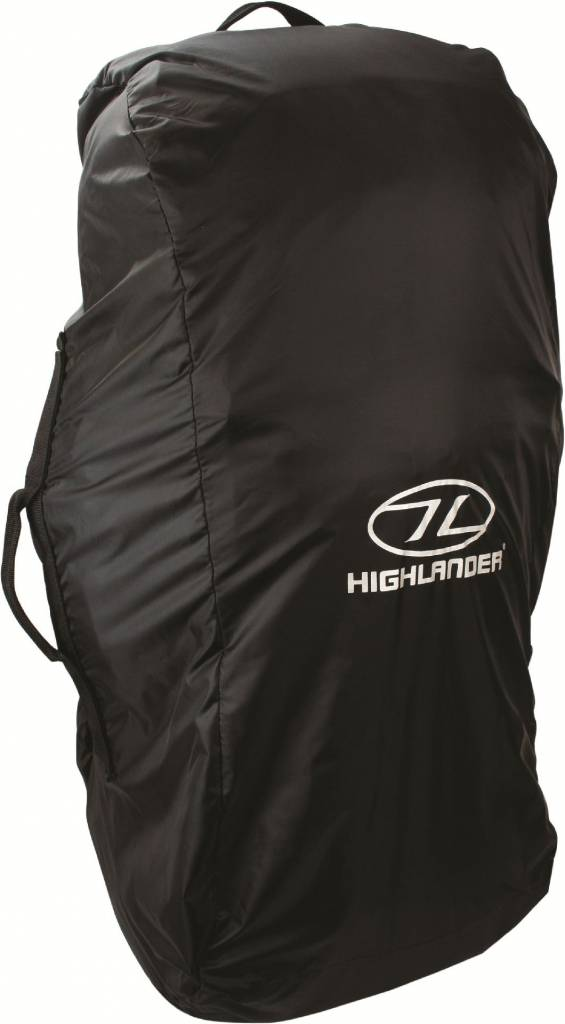 381674150cb Highlander Combicover - 80-100l - flightbag en regenhoes - zwart