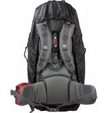 Highlander Combo cover 80-100l flightbag en regenhoes - zwart