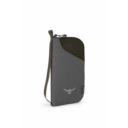 Osprey Document Zip Wallet - documenten portemonnee - paspoorthoes - zwart