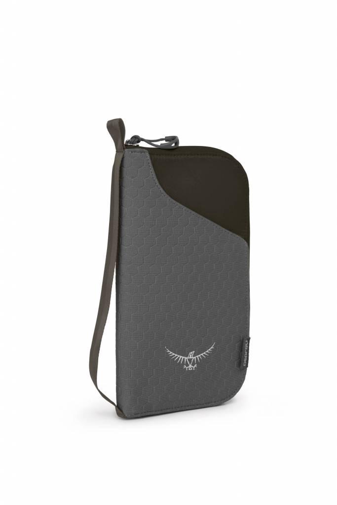 Osprey Document Zip Wallet - documenten portemonnee - zwart