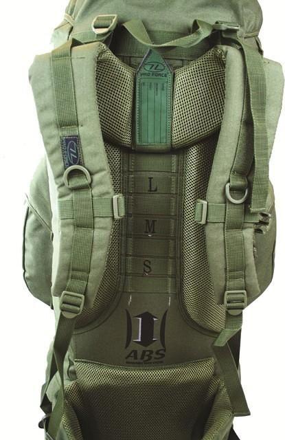 336cf147c12 Legergroene militaire backpack 66 liter   Backpackspullen.nl