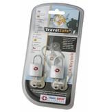 Travelsafe TSA reisslotjes - set van 2 - geschikt voor ritsen