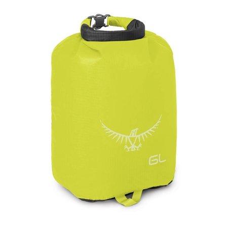 Osprey Ultralight DrySack 6 liter drybag  Electric Lime - waterdichte zak