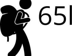 Backpacks tot 65 liter M