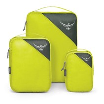 Ultralight Packing Cube set  van 3 - Electric Lime