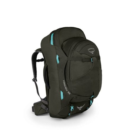 Osprey Fairview 55L WS/M dames travelpack  inclusief daypack - Misty Grey