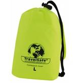 Travelsafe Combi cover L - 55-100l - backpack flightbag & regenhoes - geel