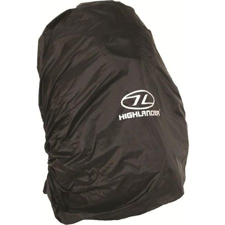 Highlander Backpack regenhoes 40-50 liter zwart