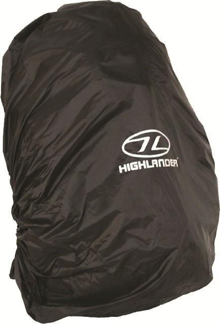 eb5de2b2a4b Regenhoes voor backpacks van 40 tot 50 liter zwart | Backpackspullen.nl