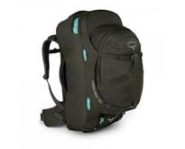 Fairview WS/WM 70L travelpack dames - Misty Grey