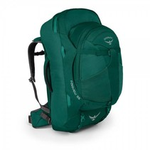 Fairview  WS/WM  55l  travelpack dames - Rainforest Green