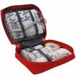 Travelsafe Globe Basic Bag - EHBO tas -rood