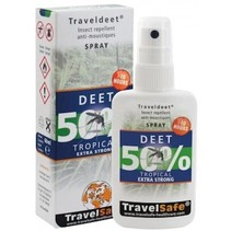 TravelDEET - 50% deet Spray - 60ml - exta strong tropical