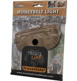 Travelsafe moneybelt lightweight – reisportemonnee - beige– twee ritsen