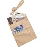 Travelsafe Nektasje moneybelt – beige