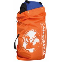 Flight Container - tot 75l - flightbag voor backpacks- oranje