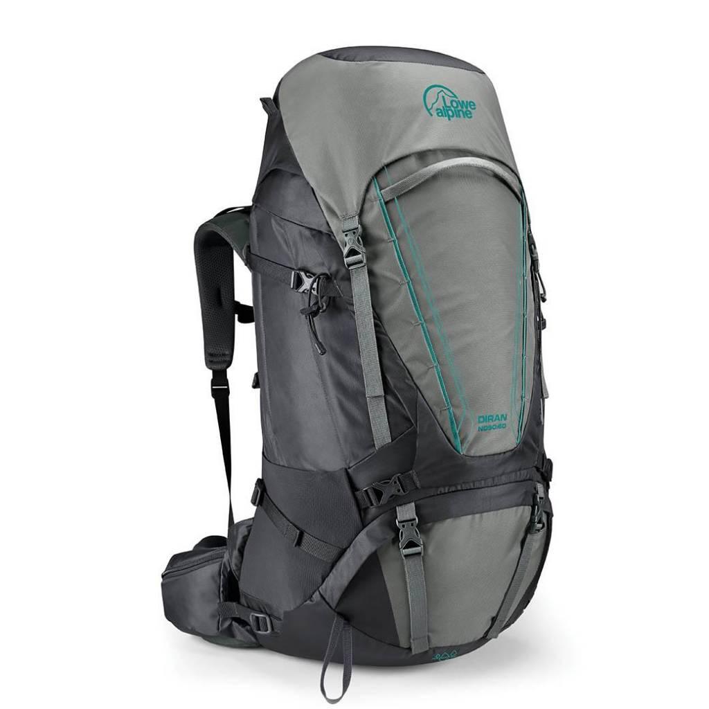 55d6188899e Lowe Alpine Diran ND - 50:60l - backpack dames- Greystone Iron Grey ...