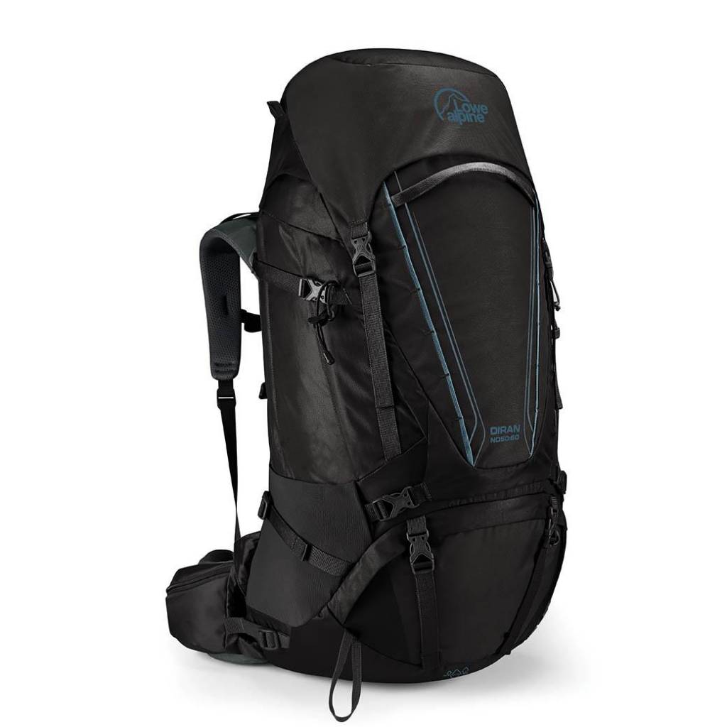 Lowe Alpine Diran ND 50:60l backpack dames - Anthracite
