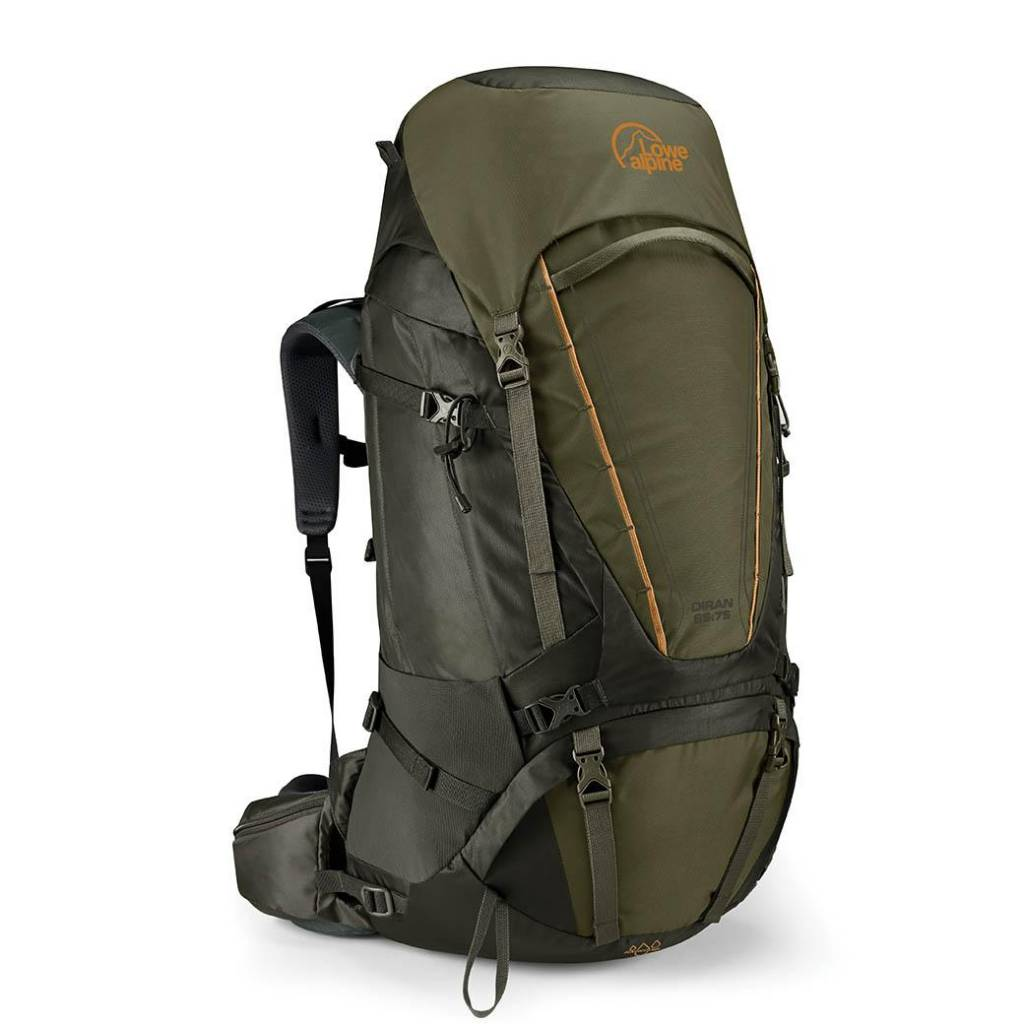 Lowe Alpine Diran 65:75l backpack - Moss Dark Olive