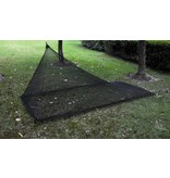 Ace Camp Piramide reisklamboe 2 persoons - muskietennet - zwart