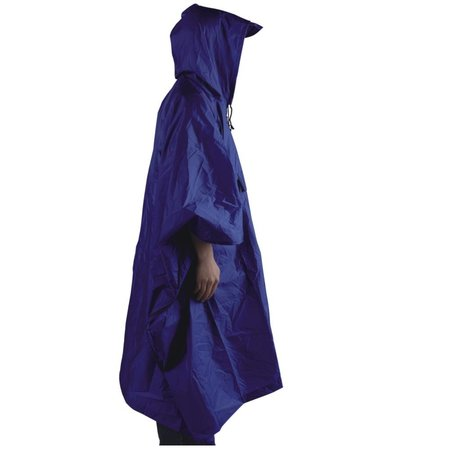 Ace Camp Poncho  premium backpacker - blauw