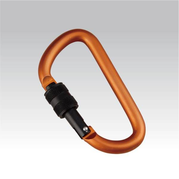 Munkees Karabijnhaak 8 mm met draai sluiting - sleutelhanger