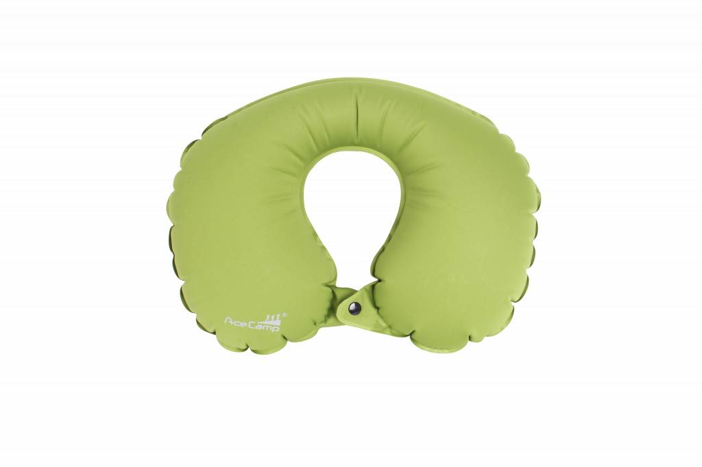 Afbeelding van Ace Camp Nekkussen opblaasbaar - groen
