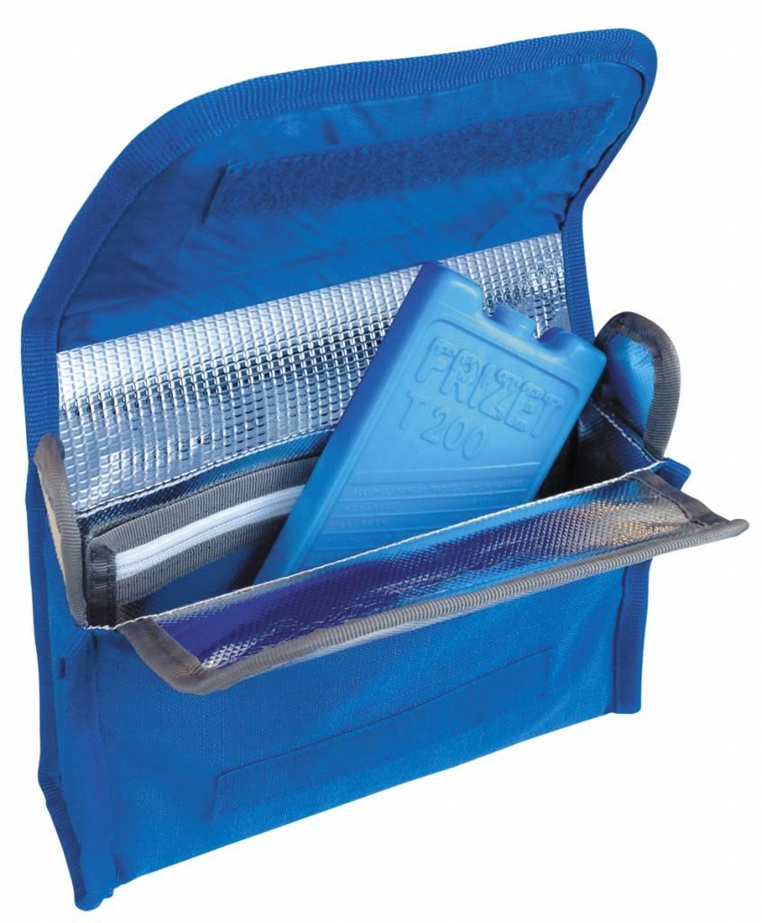 Travelsafe Iso Medibag - gekoeld medicijnen tasje - blauw