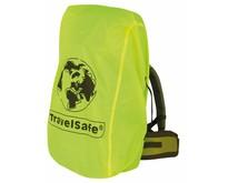 Combi cover L - 55-100l - backpack flightbag & regenhoes - geel